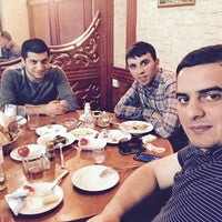 Photo taken at «Qızılgül» Restoranı by ғᴀʀᴍᴀɴ ɢ. on 4/22/2017