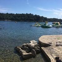 Photo taken at Zelena Laguna by Roman on 6/7/2017