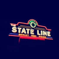 Photo taken at The State Line Bar-B-Q by Quirino S. on 8/2/2013
