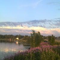 Photo taken at Озеро Сювеярви (Хиттоловское) by Петр А. on 7/4/2013