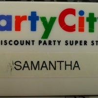 Photo taken at Party City by Samantha K. on 4/4/2013