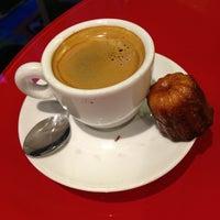 Photo taken at Baillardran Café by Fabrice P. on 1/12/2013