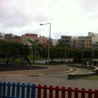 Photo taken at Parque de los Galgos by Arturo E. on 8/7/2014