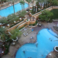 Photo taken at Wyndham Grand Desert Hot Tub by Erik R. on 7/28/2013