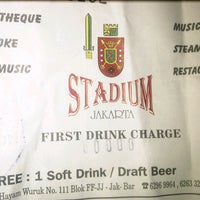 Photo taken at Stadium Jakarta by Delvan B. on 4/4/2013