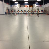 Photo taken at Easton Archery - Range C by Aaron B. on 7/14/2013