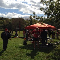 Photo taken at Cherokee Park Frisbee/Rugby Field by Jamie A. on 10/4/2014