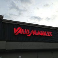 Photo taken at ValuMarket by Jamie A. on 5/22/2013