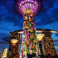 Photo taken at Gardens by the Bay by Helmi S. on 7/4/2013