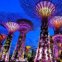 Photo taken at Gardens by the Bay by Helmi S. on 7/1/2013