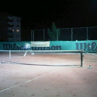 Photo taken at Havuzlu Konak Tenis Kortları by Ahmet B. on 7/3/2013