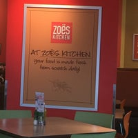 Photo taken at Zoës Kitchen by Paul D. on 7/26/2016