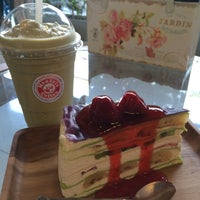 Photo taken at montrio coffee by Aksorn S. on 5/11/2014