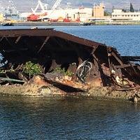 Photo taken at USS Utah Memorial by AlohaKarina 🌺🌈🏝 on 4/19/2016