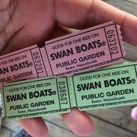 Photo taken at The Swan Boats by AlohaKarina 🌺🌈🏝 on 5/3/2015
