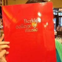 Photo taken at Berklee College of Music Bookstore by AlohaKarina 🌺🌈🏝 on 12/8/2012