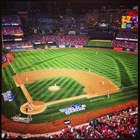 Photo taken at Busch Stadium by Brian P. on 10/27/2013