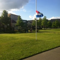 Photo taken at Monument vuurwerkramp by Remon O. on 5/13/2014