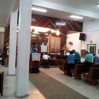 Photo taken at Iglesia Lirios de los Valle by Elba C. on 3/28/2013