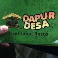 Photo taken at Dapur Desa by Ervin D. on 6/6/2014