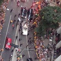 Photo taken at Avenida Rio Branco by Fabiana L. on 7/22/2013