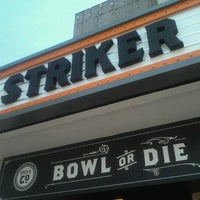 Photo taken at Striker Casual Bowling by Fabiana L. on 12/21/2012