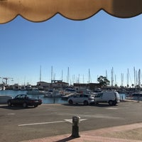 Photo taken at Club Nautico Sant Carles de la Rapita by Nejc R. on 1/25/2017