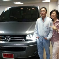 Photo taken at Volkswagen Raminthra. by Nut N. on 12/19/2013
