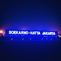 Photo taken at Soekarno-Hatta International Airport (CGK) by Novera I. on 10/25/2013