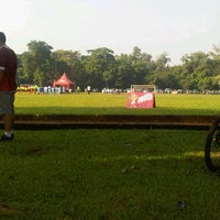 Photo taken at Stadion labda prakasa nirwakara by Eka Nur M. on 5/19/2013