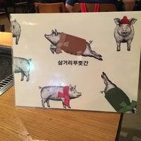 Снимок сделан в 삼거리 푸줏간 пользователем WooKyung S. 6/3/2016