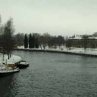Photo taken at Laukonsilta by Farna L. on 1/27/2013