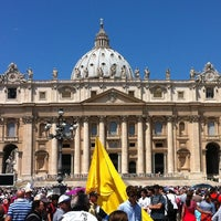 Photo taken at Saint Peter's Square by VARNER on 6/30/2013