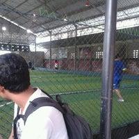 Photo taken at Udayana Futsal Centre (UFC) by marlintika _. on 4/6/2013