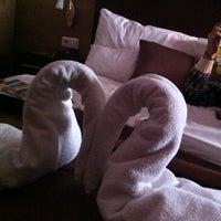 Photo taken at Central Hotel 21 by Ksenija K. on 1/13/2014