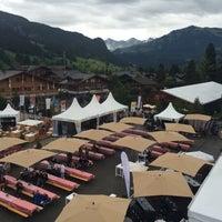 Das Foto wurde bei FIVB Gstaad Center Court von Laurent G. am 7/24/2014 aufgenommen
