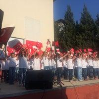 Photo taken at Ayrancılar Atatürk İlk-Orta Okulu by ülkü nur Ö. on 10/29/2016