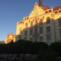 Photo taken at Karlín by Zlata O. on 5/27/2017