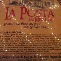 Photo taken at La Posta De Mesilla by Steven B. on 11/30/2012