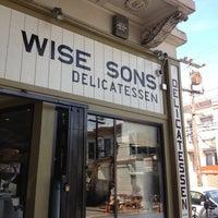 Photo taken at Wise Sons Jewish Delicatessen by Annie C. on 4/11/2013
