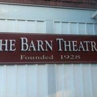 Photo taken at Barn Theatre by Rikkie M. on 7/8/2013