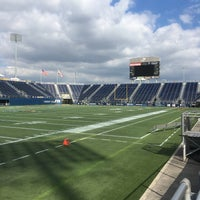 Photo taken at FIU Stadium by Casey S. on 11/19/2016