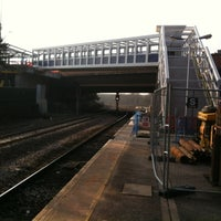 Photo taken at Salford Crescent Railway Station (SLD) by David G. on 3/19/2013