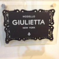 Photo taken at Giulietta NY by Bristol J. on 4/10/2013