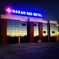 Photo taken at Hakan Sac Metal A.Ş. DAĞYAKA FABRİKA by Hüseyin B. on 7/28/2016