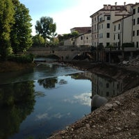 Photo taken at Imbarcadero Fiume Bacchiglione by Giuseppe B. on 9/2/2013