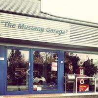 Photo taken at Mustang Garage by Pieter-Jan™ on 12/4/2014