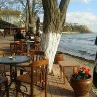Photo taken at Aheste Cafe & Bar by Ömür Ç. on 11/17/2013
