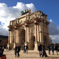 Photo taken at Arc de Triomphe du Carrousel by Jay J. on 11/10/2013