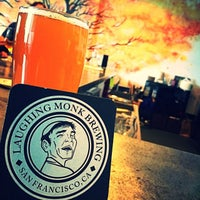 Photo taken at Laughing Monk Brewing by Tim V. on 3/6/2017